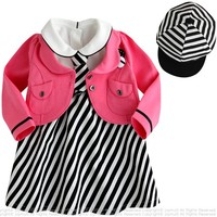Children Teenage Girls Clothing Store Baby Girl Outfit Sets Winter New Years Boutique Outfits 3 Pcs
