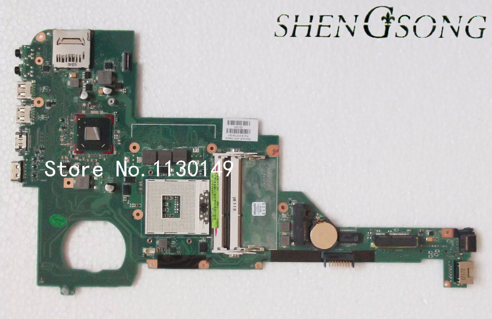Free Shipping 676756-001 676756-501 for HP Pavilion DV4 DV4-5000 Laptop Motherboard Notebook Mainboard free shipping 720266 001 motherboard for hp pavilion 17 j notebook pc 740m 2g