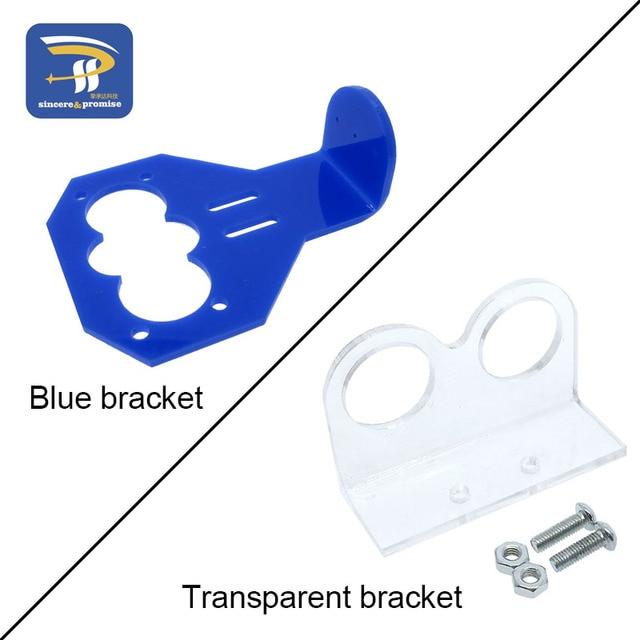Cartoon ultrasonic sensor mounting bracket HC-SR04 for arduino Ultrasonic module ultrasonic smart car matching fasteners