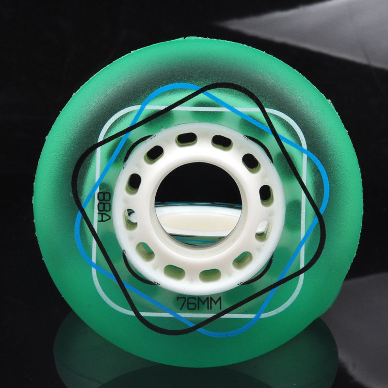 Free Shipping Roller Skates Wheels Jelly Wheel Slide Brush 88 A