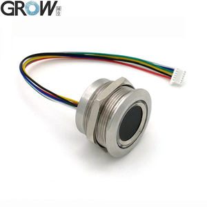 Image 3 - GROW R503 New Circular Round Two Color Ring Indicator LED Control DC3.3V MX1.0 6pin Capacitive Fingerprint Module Sensor Scanner