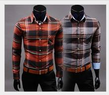 Neue Angekommene Plaid 2016 Mann Marke New Style Design Mens Shirts abendkleid hochwertigen Casual Passende Stilvolle Hemden 5023