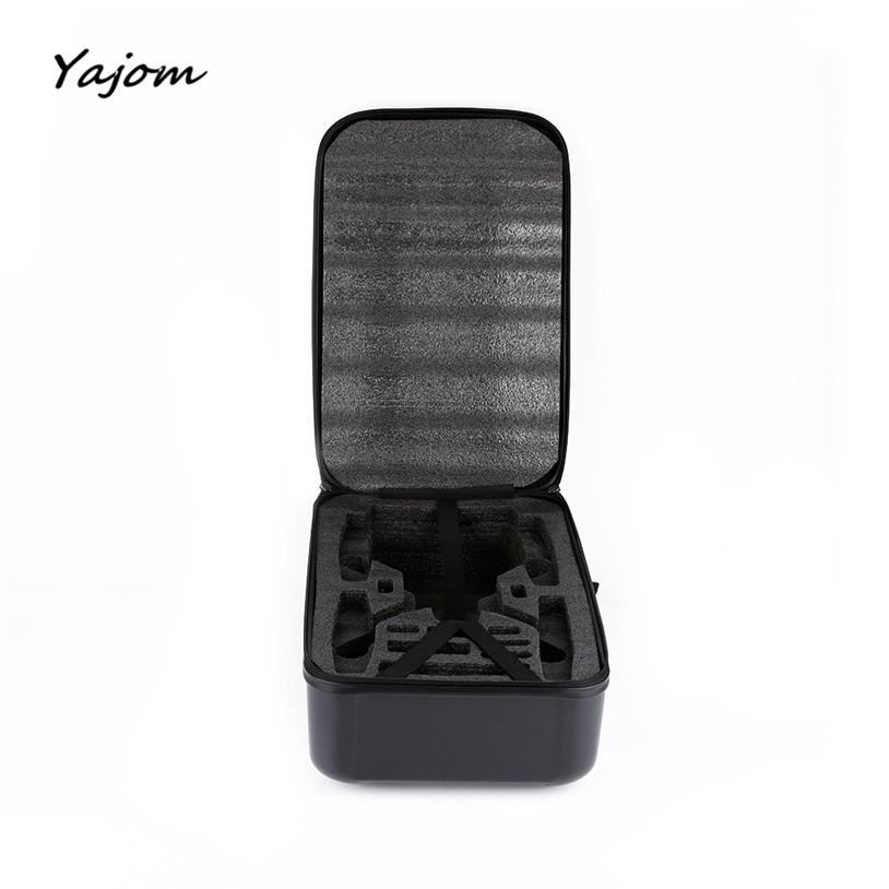 2017 New Hot Sale Black ABS Hard Shell Backpack Case Bag for Hubsan X4 H501S Quadcopter Brand New High Quality Apr 27 hard shell backpack case bag for hubsan x4 h501s rc quadcopter