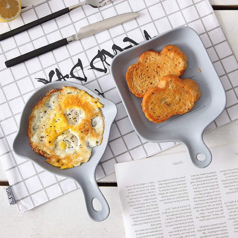 Nordic Style Stainless Steel Non-Stick Breakfast Frying Pan 1