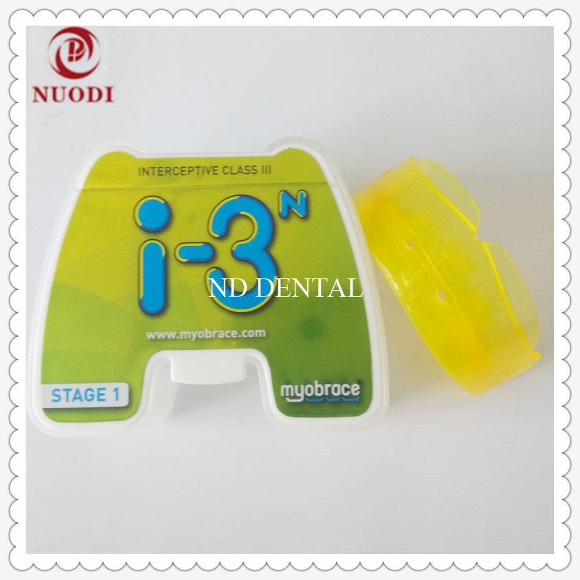 Mixed dentition teeth brace I3N ages 5-8/MRC Trainer Orthodontic teeth trainer appliance I3N/Dental orthodontic brace Class III dental orthodontic brace work with bracket b1 teeth trainer appliance correct myofunctional habits home use orthodontic brace
