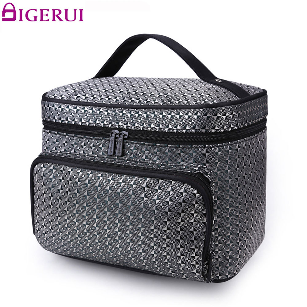 Cosmetic Bag Organizer Makeup Bag Travel Organizer Case Beauty Necessary Make up Storage Beautician Box A4860