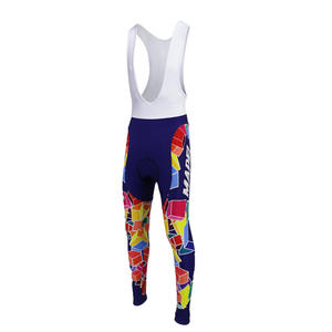 749cc608a Cycling bib trousers 9D gel pad winter wool or spring autumn no wool bike  wear MAPEI Cycling Full Length