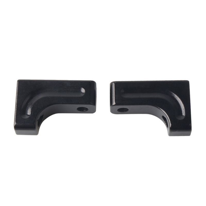 2pcs Set Alloy Metal Servo Mount with Screws for AXIAL SCX 10 CC01 D90 AX80028 RC Car in Parts Accessories from Toys Hobbies