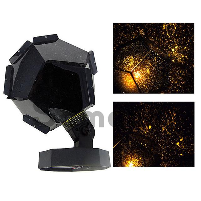 Marca Top Celestial Star luzes Led constelação romântico padrões projetor adorável incrível estrelado céu noturno lâmpadas para o partido