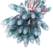 купить 200 pcs/lot 12mm WS2811 2811 IC RGB Led Module String Waterproof DC 5V Digital Full Color LED Pixel Light дешево