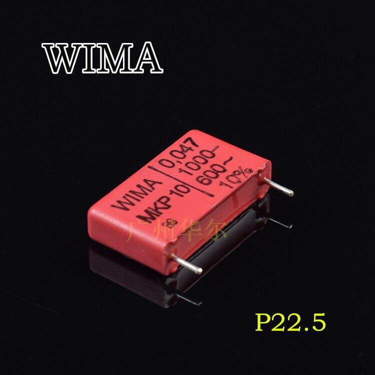 20 pcs/50 pcs Originale con licenza Germania condensatore WIMA MKP10 0.047 UF 473 1000 V libera il trasporto20 pcs/50 pcs Originale con licenza Germania condensatore WIMA MKP10 0.047 UF 473 1000 V libera il trasporto
