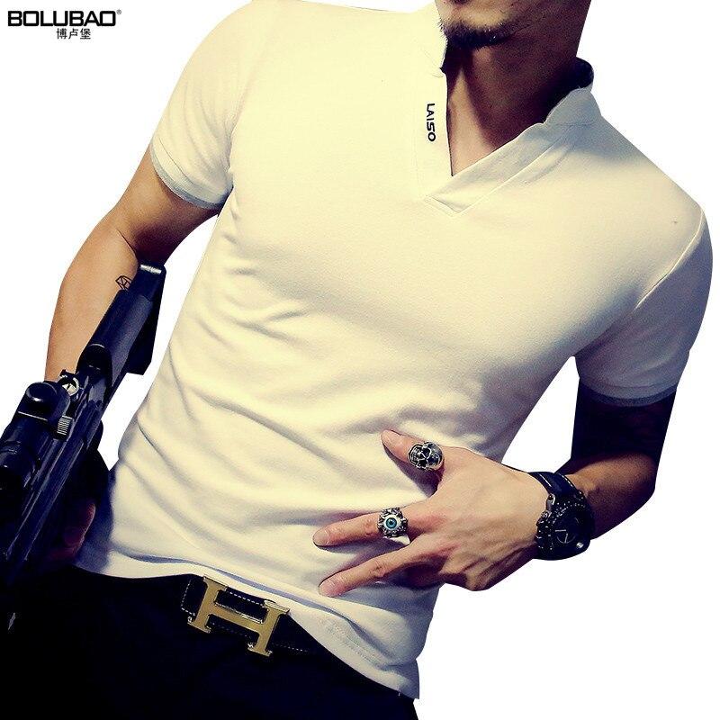 BOLUBAO Νέο καλοκαιρινό μπλουζάκι μάρκας - Ανδρικός ρουχισμός - Φωτογραφία 2