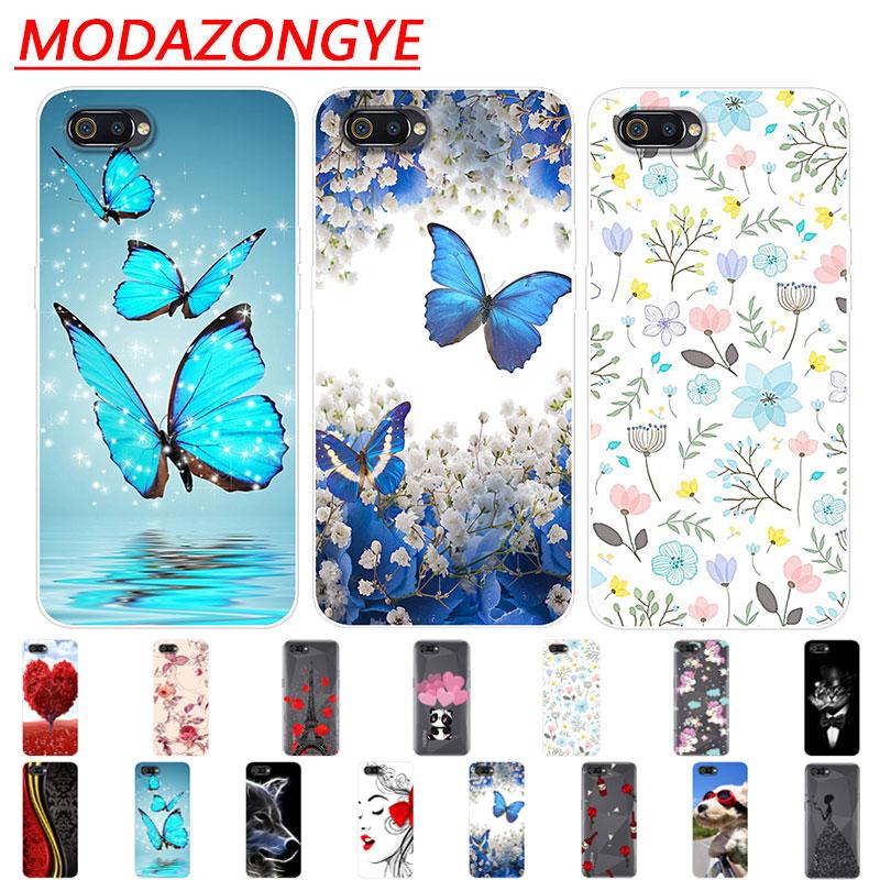 Realme C2 Case Silicone For OPPO Realme C2 Back Cover Protective Soft TPU Phone Case On Realme C2 C 2 RealmeC2 Case
