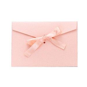 Image 5 - 10 teile/satz Vintage Bogen Perle Farbenfrohes blank mini papier umschläge DIY hochzeit einladung umschlag/vergoldet umschlag/12 farbe
