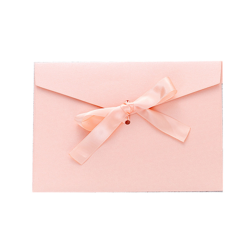 Image 5 - 40pcs/set Vintage Bow Pearl Colorfull blank mini paper envelopes DIY wedding invitation envelope /gilt envelope/12 color-in Paper Envelopes from Office & School Supplies
