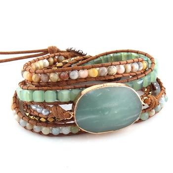 Bracelet Wrap Perles