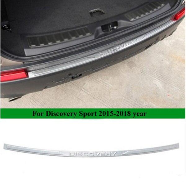 Acier inoxydable voiture pare-chocs arrière plaque de seuil seuil pour Land Rover Discovery Sport 2015 2016 2017 2018 accessoires voiture style