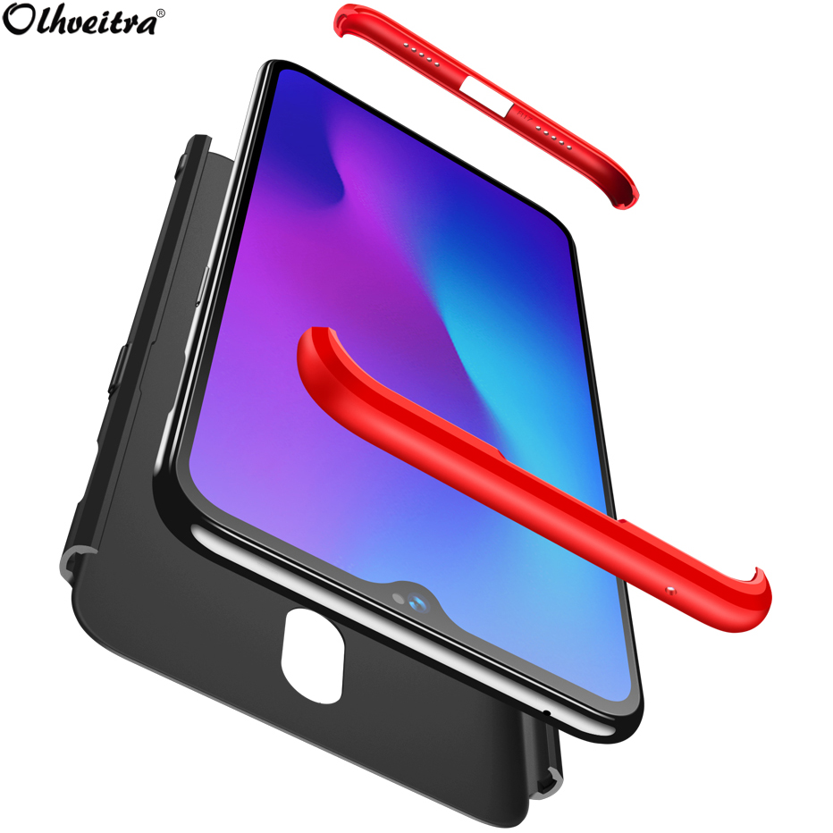 best service 655f9 51354 US $2.69 29% OFF|Olhveitra Accessories Oneplus 6T Case For Oneplus 6 6T  Case 3 In 1 Protective Hard PC 360 Full Body Phone Couqe For Oneplus 5  5T-in ...