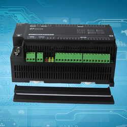 8 Way PT100 High Precision Industrial Temperature Acquisition Controller, Modbus RS485 RS232 Dual Serial Port
