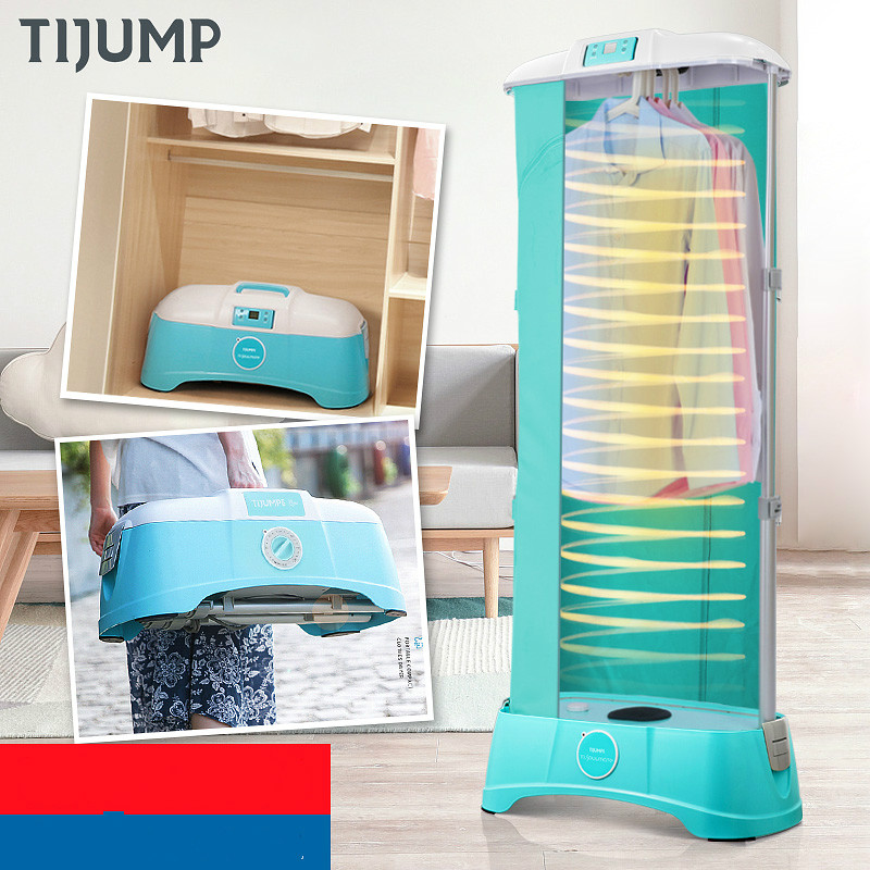 TJ-SM801E Portable Mini dryer Small fold travel Remote control dryer Fast clothes dryer projecta 10530087 fast fold 320x427см 200