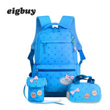 цены Star Printing Children Backpacks For Teenagers Girls Lightweight Waterproof School Backpack Bags Child Orthopedics School Bags