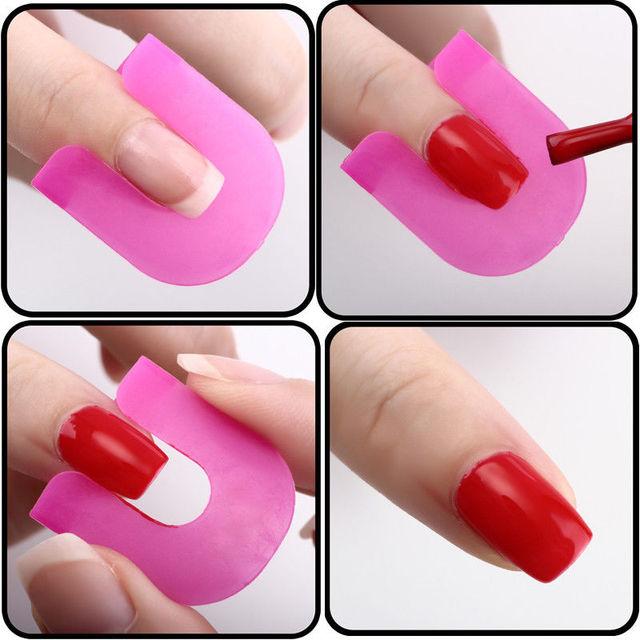 Manicure Monday Plastic Wrap Nail Art