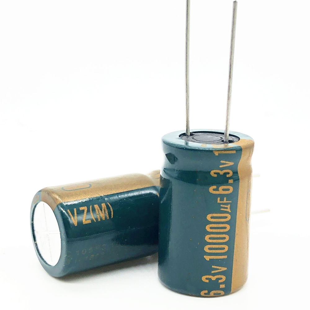 5pcs/lot 6.3V 10000UF 16*25 High Frequency Low Impedance Aluminum Electrolytic Capacitor 10000uf 6.3v 20%