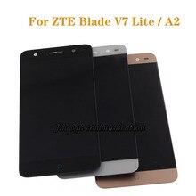 ل شاشة ZTE Blade v7 لايت شاشة الكريستال السائل + محول الأرقام بشاشة تعمل بلمس مكون استبدال ل ZTE شفرة A2 LCD الهاتف المحمول اكسسوارات