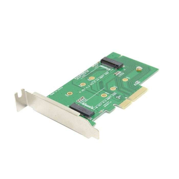 M.2 NGFF PCIe 4 LANE SSD to pci-e PCIE 3.0 x4 & NGFF to SATA Adapter for Samsung xp941 LITE-ON IT M6E With Low Profile Bracket