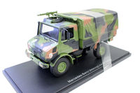 Rare Alloy Model Gift 1:43 Scale Mercedes Benz Unimog Off road Armored Truck Vehicle Diecast Toy Model for Collection,Decoration