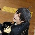 Anime Haikyuu!! Yamaguchi Tadashi Volleyball Styled Short Black Cosplay Wig