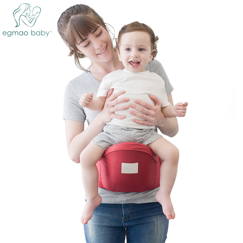Baby Hip Seat Carrier With Adjustable Strap And Pocket Ergonomic Infant Waist Stool Baby Front Carrier For 0-24 Months Baby