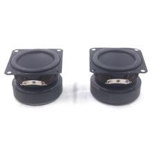 2 шт HIFI 2-дюймовый 4 Ом 10 Вт аудио динамик полный диапазон громкий динамик DIY мини стерео коробка аксессуары Мультимедиа bluetooth динамик