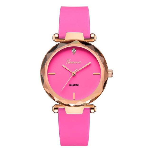 TZ#502 Women's luxury bracelet watches fashion women's dress Fashion Womens watches Geneva silica analog band quartz watch