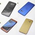 Fibra de carbono para samsung galaxy s7 edge 3mm adesivo na tampa do telefone de volta caso tampa da bateria de volta (não protetor de tela)