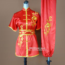Customize Chinese wushu uniform Kungfu clothes taolu font b clothing b font Martial arts suit for