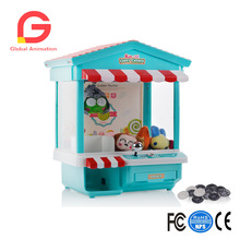 29*22*36.5CMFeatures Electronic Claw Toy Grabber Machine,Animation,4 Animal Plush,and Authentic Arcade Sounds for Exciting Play