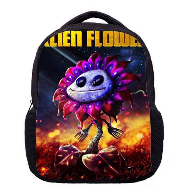 купить 13 Inch Children's Backpacks Plants VS Zombies School Bags for Kindergarten Children Kids Backpack for Boys Girls Mochila онлайн