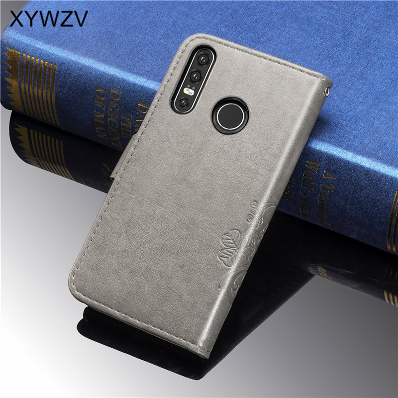 Image 2 - For Huawei Nova 4E Case Shockproof Flip Wallet Soft Silicone Phone Case Card Holder Fundas For Huawei Nova 4e Cover For Nova 4E-in Flip Cases from Cellphones & Telecommunications
