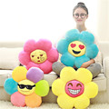 High Quality 45CM Sunflower Plush Pillow Toy Stuffed Plant Cushion Mattress Pad Sofa Decor Soft Toys Children Kids Baby Gifts