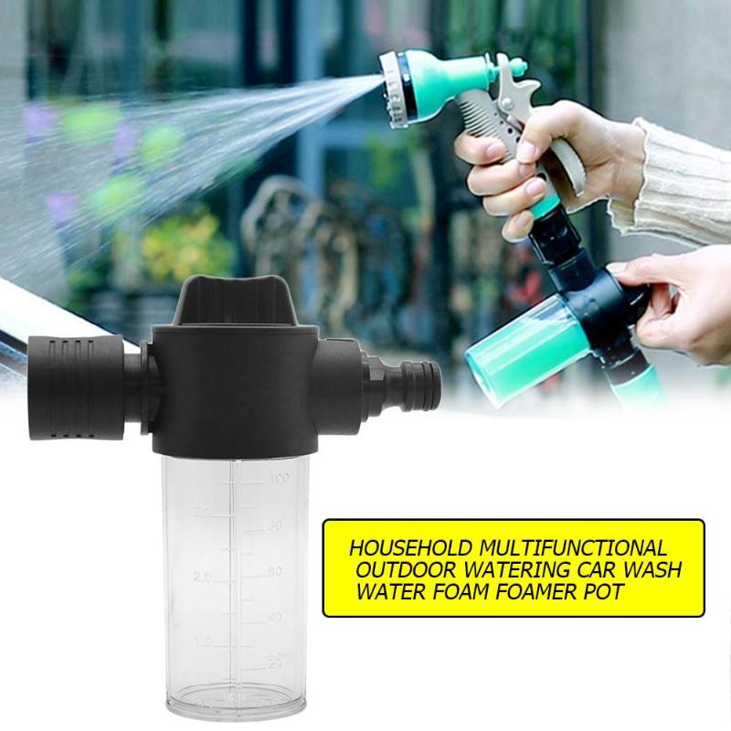 Household Car High Pressure Power Water Gun Foam Maker Car Wash Water Watering Foam Foamer Pot Sprayer Watering Sprinkler Tools