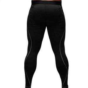 c01e9abc6a85a Mens Sport Tight Slim Running Fitness Pants Long Leggings Thermal Under  Trousers Joggers Quick drying Drop shipping