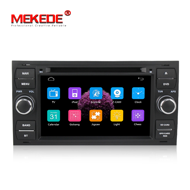 free ship capacitive screen Car radio Player For Galaxy Fiesta S Max C Max Fusion with GPS navigation radio video free 8GB map