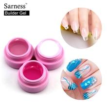 Saroline UV Builder Gel Nail 1pcs Professional Strong Long Lasting False Tips Extension Tool Pink White Clear Transparent