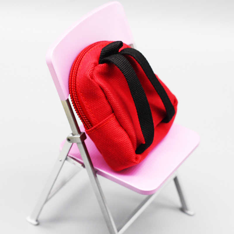 Boneka Tas Ransel Aksesori untuk BJD 1/6 Fashion Tas Ransel Sekolah Kuning/Biru/Pink/Merah Coloraccessories Boneka Bayi gadis Hadiah