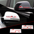 2 X Reflective Car Rearview Mirror Sticker and Decal Quattro S-line for Audi Accessories A1 A3 A4 A5 A6 A7 A8 Q3 Q5 Q7 S3 S5 S6