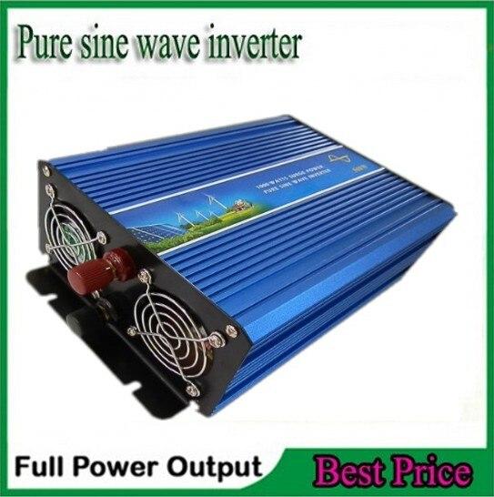 1000W Off Grid Tie Inverter DC12V/24V/48V Pure Sine Wave Inverter for Wind Turbine/Solar System, 2000W Peak Power free shipping off grid tie inverter 1000w dc12v 24v pure sine wave inverter for wind solar system
