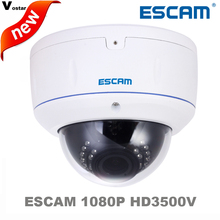 free shipping HD3500V Onvif 2MP 1080P support POE H.264 Outdoor IP camera IP66 Waterproof Vandal-Proof IR Dome Camera