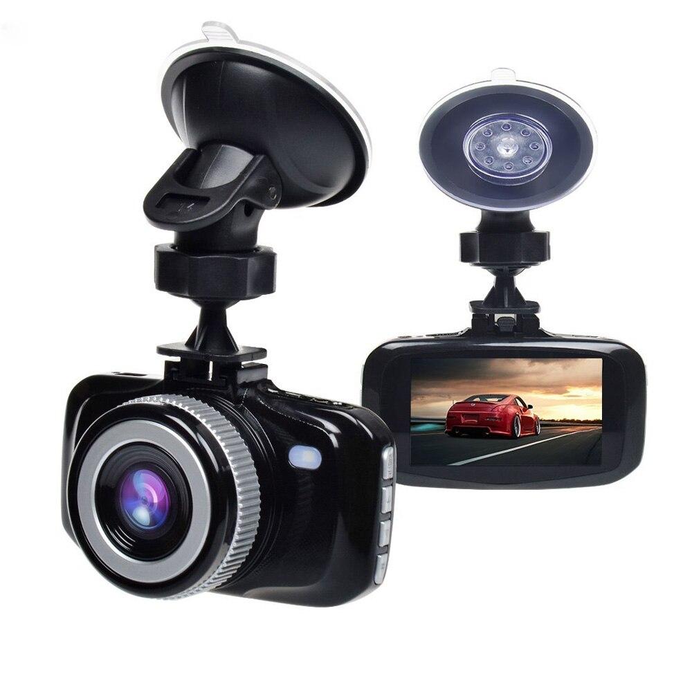 Dash Cam réel Full HD 1080 P voiture DVR caméra tableau de bord enregistreur vidéo g-sensor moniteur de stationnement détection de mouvement enregistrement en boucle