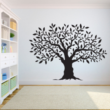 Tree Wall Decal Sticker Bedroom tree of life roots birds flying away home decor wall sticker A7-005